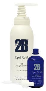 2B Epil xcel solution - haargroeiremmende nabehandeling ontwikkelaar