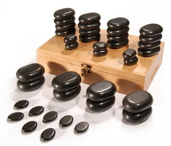 SIBEL Hot stone massageset Full body
