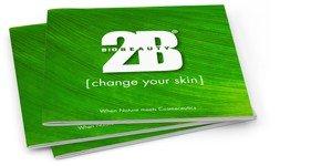 2B Biobeauty consumentenbrochures  50 stuks